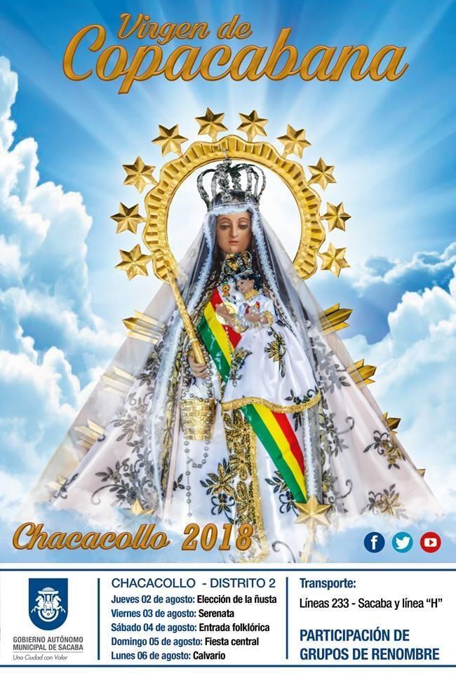 CHACACOLLO – Programa de la FIESTA PATRONAL