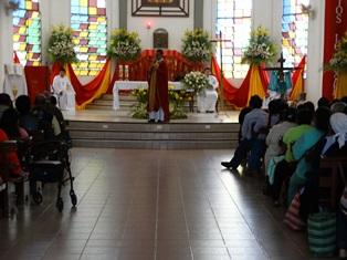 MONTERO – celebrando la Exaltación de la Santa Cruz