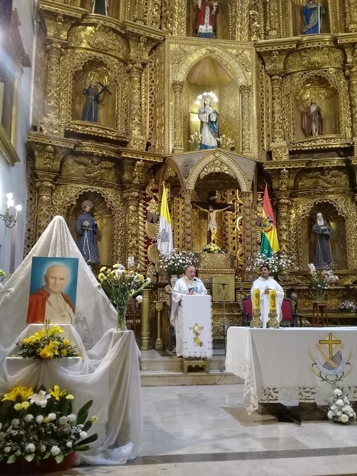 SUCRE – Celebrando a San Juan Pablo II