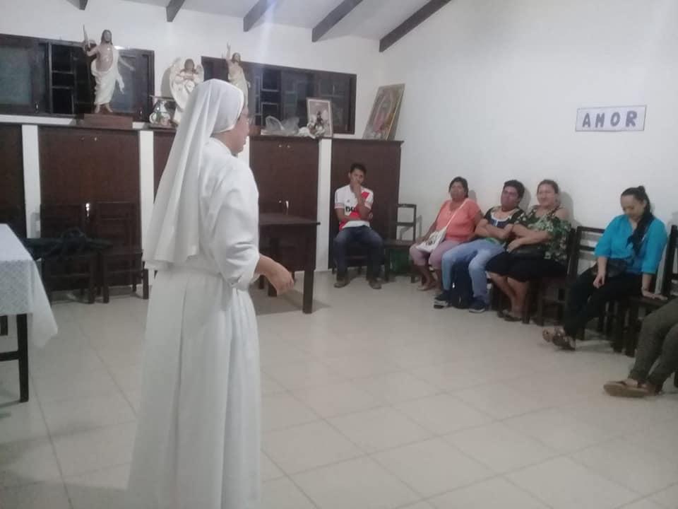Villa 1ro. de MAYO – Preparando Monaguillos
