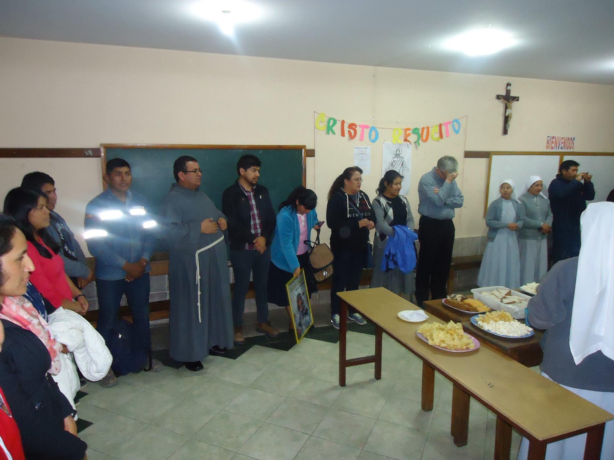 QUINTANILLA – Despedida a una «Misionera» de la Inmaculada