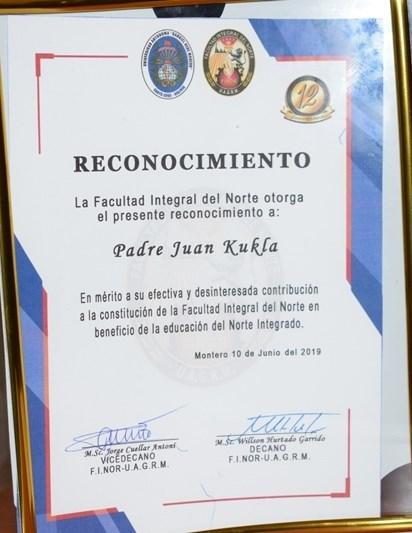 Consejo Parroquial de JULIO- 75 ANIVERSARIO y RECONOCIMIENTO