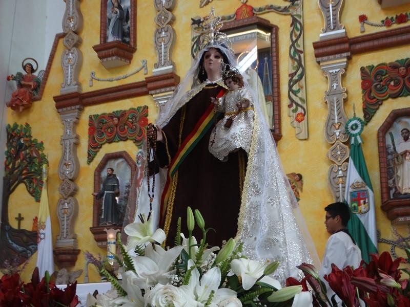 MONTERO – Celebrando la Fiesta a la Virgen del Carmen