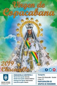 QUINTANILLA – Festividad de Copacabana en CHACACOLLO