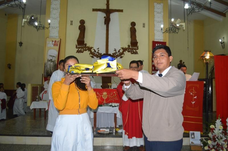 MONTERO – Preparando la Fiesta de San Maximiliano Kolbe
